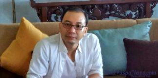 Francis Aswin, Marketing Director PT Multi Bintang Indonesia Niaga, pada peluncuran Heineken Light. Image by ist