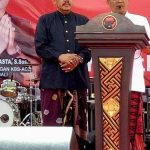 - Pasangan Calon Gubernur dan Wakil Gubernur Bali yang diusung PDI Perjuangan Dr Ir Wayan Koster MM dan Dr Ir Tjok Oka Artha Ardhana Sukawati MSi (KBS-ACE)