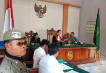 Sidang Tindak Pidana Ringan (Tipiring) yang digelar di Pengadilan Negeri Denpasar, Rabu (12/11)