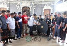 Minggu (9/12), Lomba Ceki digelar oleh Sekaa Teruna (ST) Bayu Semana, Sakedanan Belodan, Tabanan
