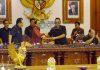 Foto Gub Rapat Paripurna di DPRD Bali
