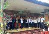 KOMBATAN (Komunitas Banteng Asli Nusantara) Bali singgah ke posko pemenangan IGN Kesuma Kelakan sekaligus memenangkan Jokowi- Ma'ruf