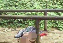 Korban meninggal diatas jembatan