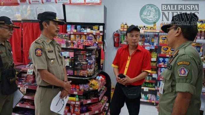 Tim Yustisi Sidak sejumlah toko di Klungkung