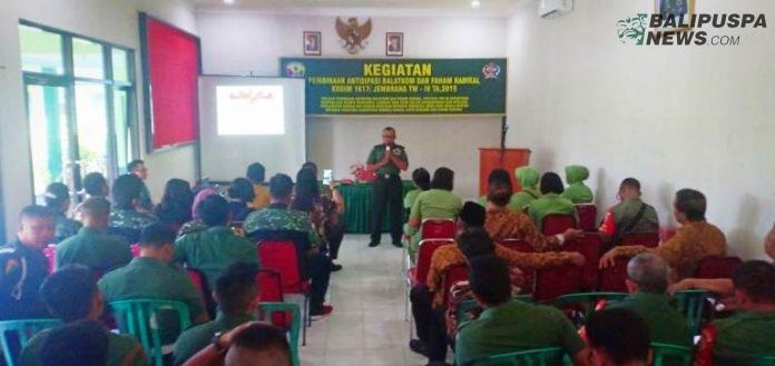 Cegah Radikal Kiri Kodim Sosialisasi Balatkom