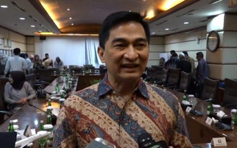 Wakil Ketua BURT/Anggota Komisi III DPR, Achmad Dimyati Natakusumah