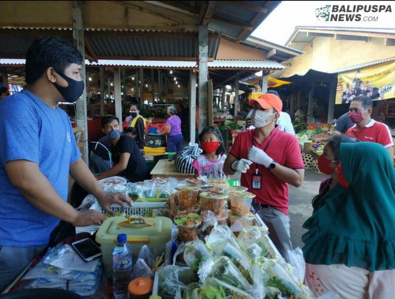 Dinas Perindustrian dan Perdagangan Provinsi Bali melakukan peninjauan ke relokasi Pasar Umum Gianyar di Desa Samplangan dan Pasar Desa Keramas Blahbatuh Gianyar, Jumat (10/2/2020).