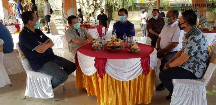 Saat Jaksa Agung RI DR ST Burhanuddin,SH tinjau Puri Cempaka Aset rampasan Negara di Klungkung