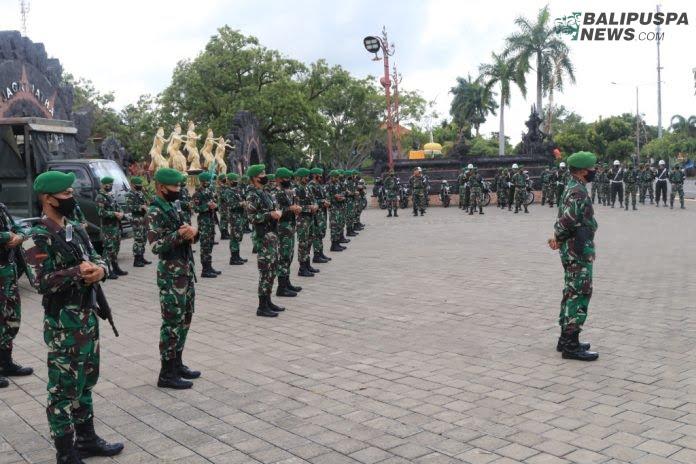 Selasa (26/10), dilaksanakan apel gelar pasukan TNI