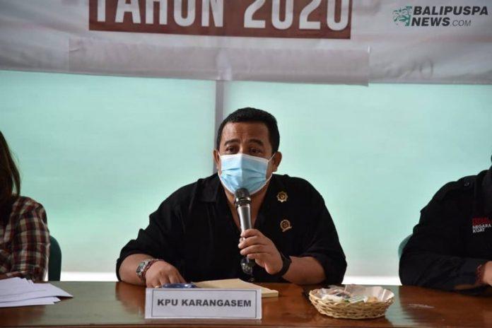 Ketua KPU Karangasem Gede Krisna Adi Widana