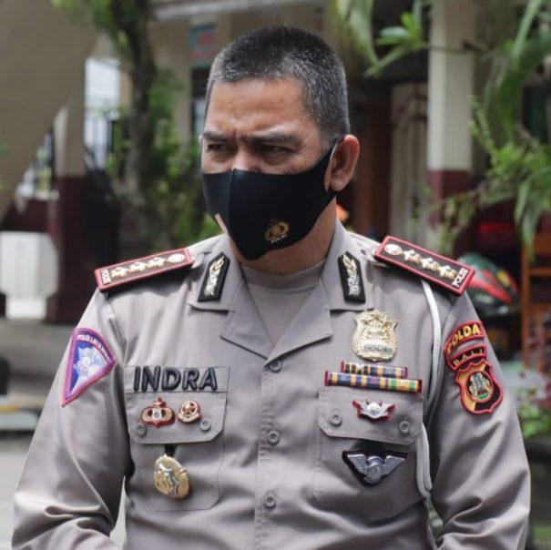 Direktur Lalulintas Polda Bali Kombes Pol Indra