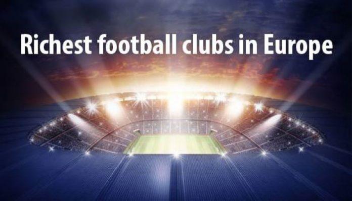 10 Klub Terkaya di Eropa